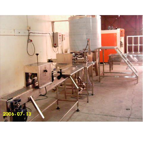 HONEY MIXING AND FILLLING LINE 1200 KG8H