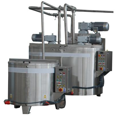 MACHINE FOR RODUCTION OF CREAM CHOCOLATE 100-150 KG HOUR