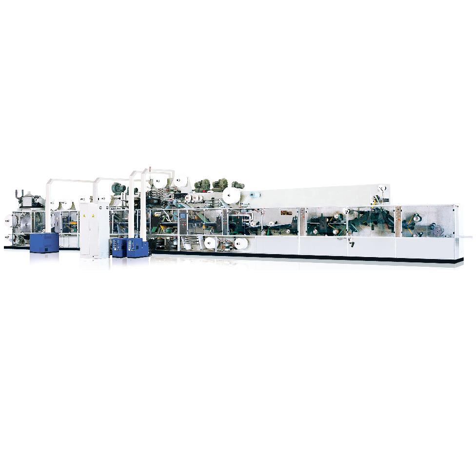CDH-3N FULLY-AUTOMATIC BABY DIAPER PRODUCTION LINE
