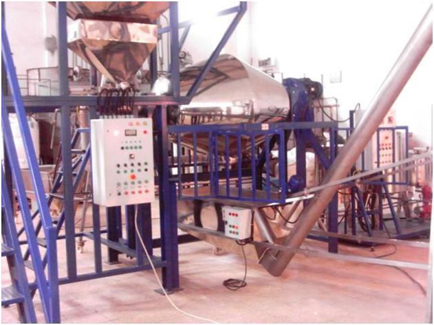 POWDER DETERGENT PRODUCTION MIXER (WASHING POWDER DETERGENT WITH ATOMISER SYSTEM) 2000 KG SAAT