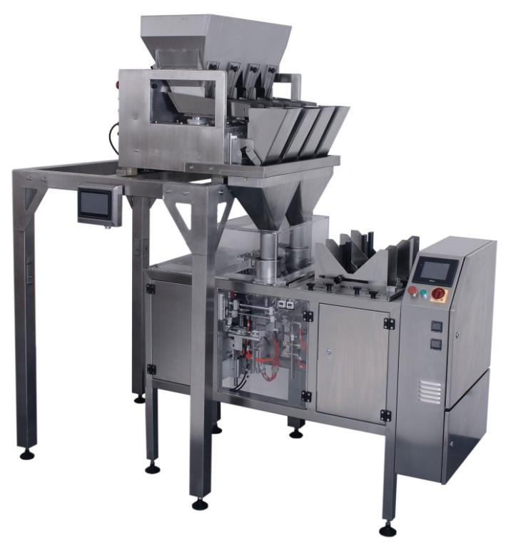 PL-MDP-SXS MINI WEIGH DUPLEX 4 HEAD+MINI DOYPACK PACKAGING MACHINE PACKING LINE