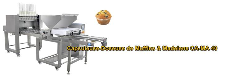 LIGNE AUTOMATIC FOR MUFFINS AND CUP-CAKES