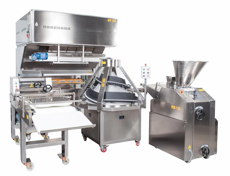 BREAD PRODUCTION PLANT (BAGUETTES) 350 UNIT HEURE