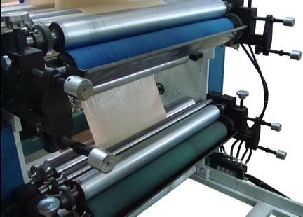SM002 AUTOMATIC PAPER FOOD BAG MACHINE WITH 1 COLOURS FLEXO PRINTING