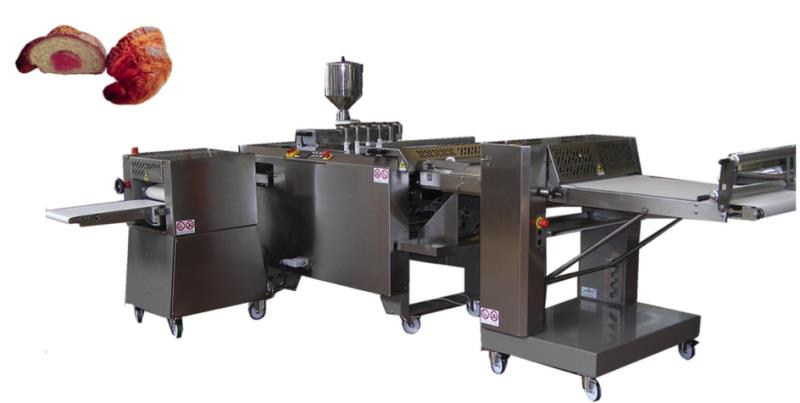 CSTAR 2000 AUTOMATIC FILLED CROISSANT PRODUCTION LINE CAPACTY  2.400 UNIT HOUR