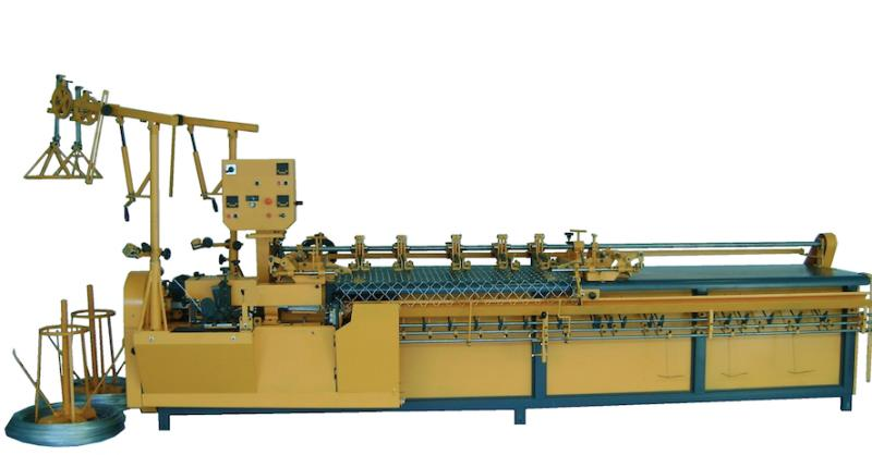 ADF3-PRO AUTOMATIC CHAIN LINK FENCE MACHINE 80 cm to 210 cm