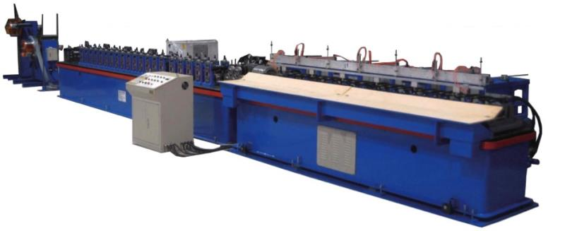 G-240-L COMPLETE SET OF FULLY AUTOMATIC MAIN TEE (38*24) IN LINE PUNCH COLD ROLL FORMING MACHINE MAX 40M MUN.