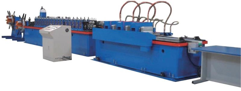 G-240-L COMPLETE SET OF FULLY AUTOMATIC IN LINE PUNCH CROSS TEE  (28*24) COLD ROLL FORMING MAIN MACHINE MAX 50 PCS MUN.