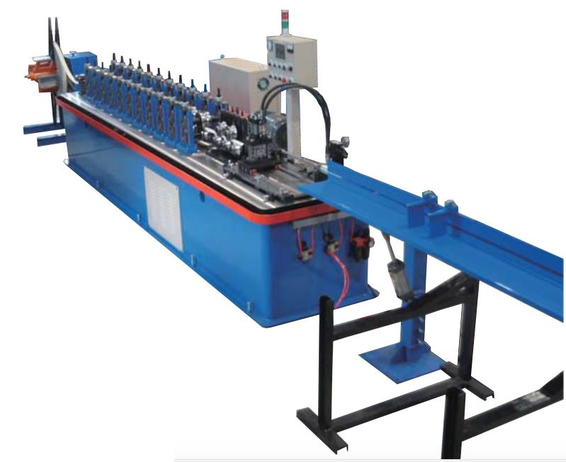G-240-L COMPLETE SET OF FULLY AUTOMATIC METAL SHEETS (WALL ANGLE) COLD ROLL FORMING MACHINE MAX 25-30 MT