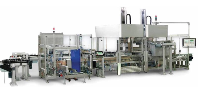 TKP-200 + TKH-40-M-L +TKB-70-A  FULLY AUTOMATIC PACKAGING LINE