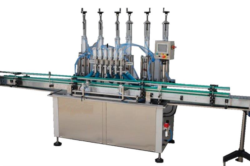 ODM-VP-2 AUTOMATIC LINEAR VOLUMETRIC PNEUMATIC FILLING MACHINE