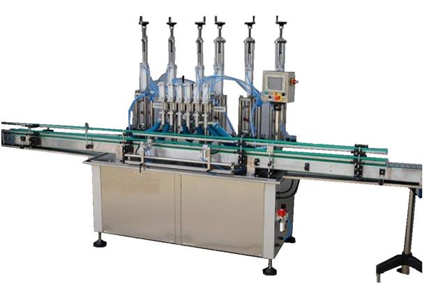 ODM-VP-8 AUTOMATIC LINEAR VOLUMETRIC PNEUMATIC FILLING MACHINE