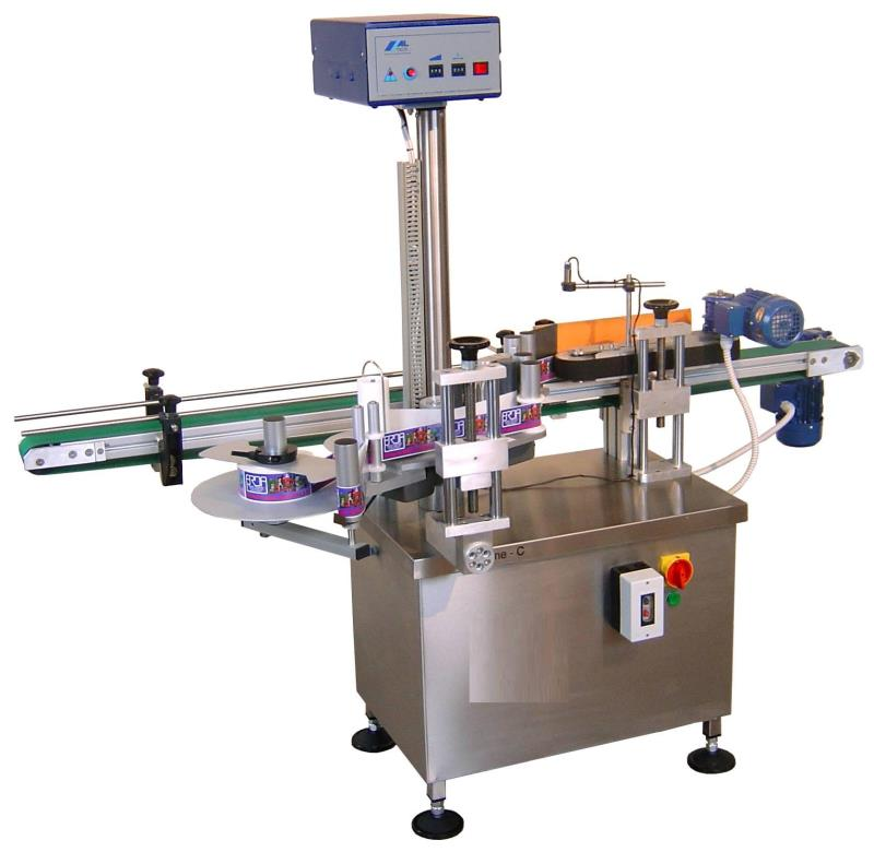 ELINE-C ALSTEP-E ECO AUTOMATIC WRAP-AROUND SELF ADHESIVE LABELLING MACHINES 3000 PCS HOUR