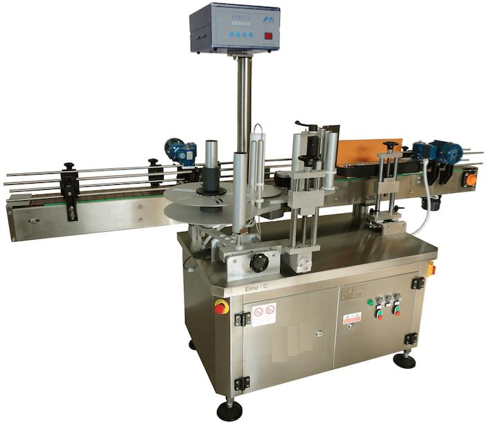 ELINE-C ALSTEP-S AUTOMATIC WRAP-AROUND SELF ADHESIVE LABELLING MACHINES 6000 PCS HOUR