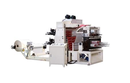 OSF 200 FLEXO MACHINE D'IMPRESSION & POINCONNEUSE AUTOMATIQUE 2 COULEUR