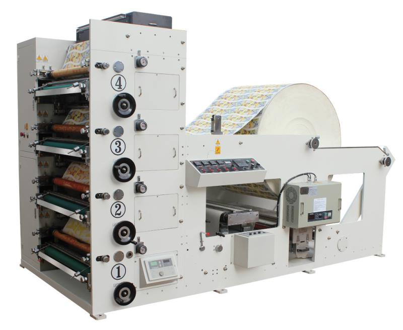 OSF 400 FLEXO BASKI MAKİNESİ 4 RENK