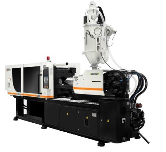 EKİN 210T PLASTIC INJECTION MOLDING MACHINE (SERVO SYSTEM) WITH ASSISTANT EQUIPMENTS