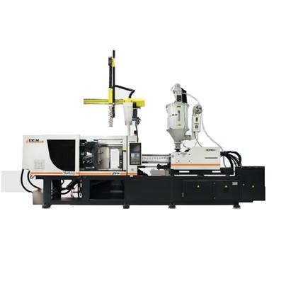 EKİN 270T PLASTIC INJECTION MOLDING MACHINE (SERVO SYSTEM) WITH ASSISTANT EQUIPMENTS