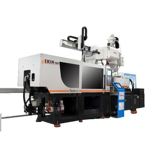 EKİN 500T PLASTIC INJECTION MOLDING MACHINE (SERVO SYSTEM) WITH ASSISTANT EQUIPMENTS