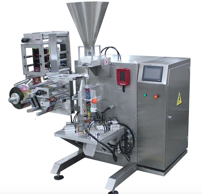 MKYD-1000 VERTICAL PACKAGING SYSTEM + VOLUMETRIC DOSAGE SYSTEM  (SHAPE OF PACKAGE TRIANGULAR)