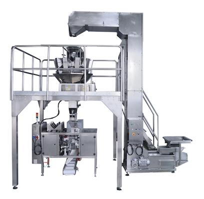 PL-MDP-SX2 MINI WEIGH DUPLEX 10 HEAD MULTIHEAD WEIGHER+MINI DOUBLE MINI DOYPACK MACHINE PACKING LINE