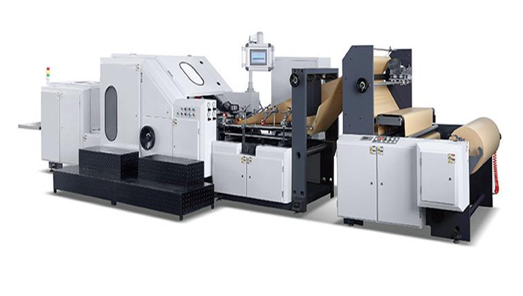 GERMA-260 ROLL FED SQUARE BOTTOM PAPER BAG MACHINE