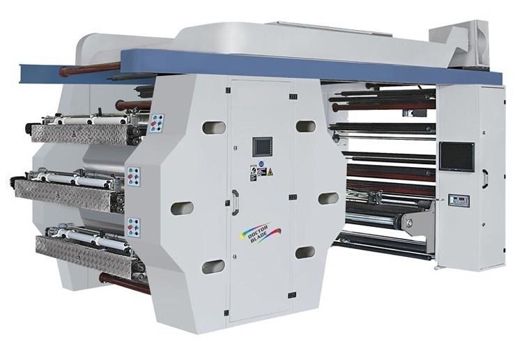 SİRMA-105 MACHINES D'IMPRESSION FLEXO A IMPRESSION CENTRALE 5 COULEURS