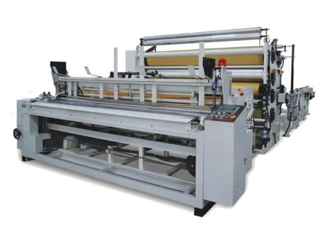 SM-J-150 JUMBO TOILET PAPER MACHINE EMBOSSING AND LAMINATION