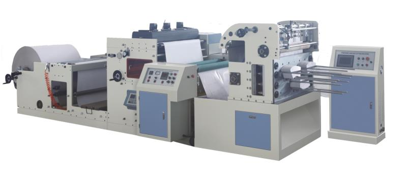 FLEXO PRINTING & PUNCHING MACHINE 4 COLOR