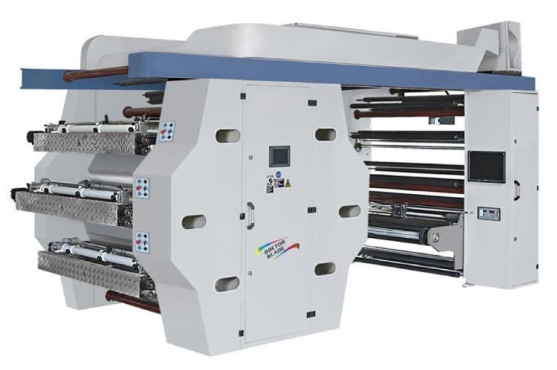 MACHINES DIMPRESSION FLEXO A IMPRESSION CENTRALE 6 COULEURS