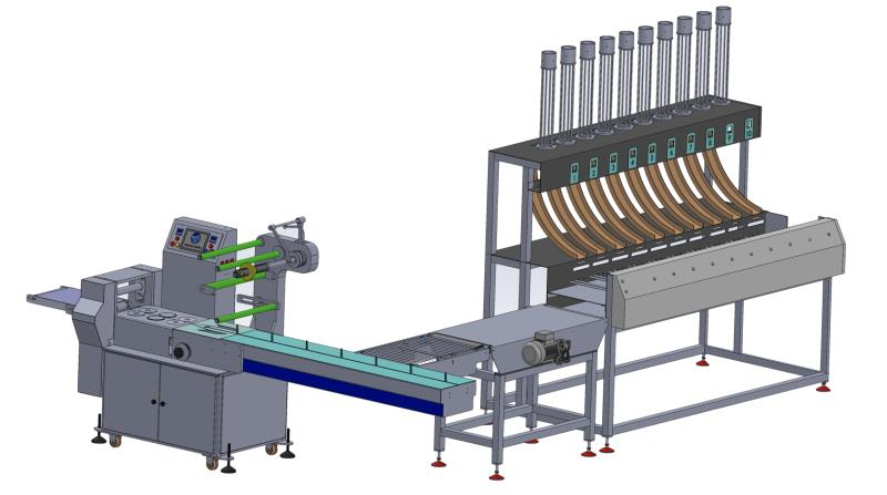 OR-250 5 STATION PAPER CUP PACKING LINE