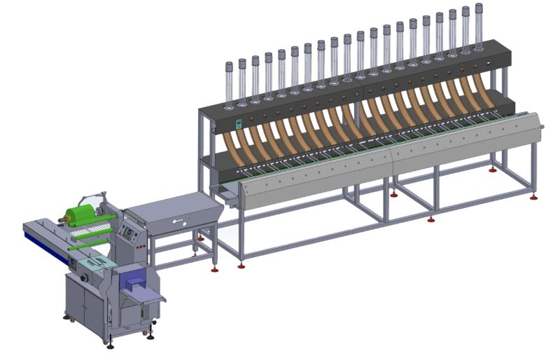 OR-250 20 STATION PAPER CUP PACKING LINE